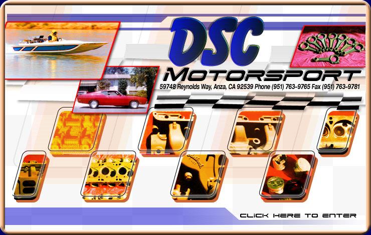Dsc Motorsport Ford Racing Parts